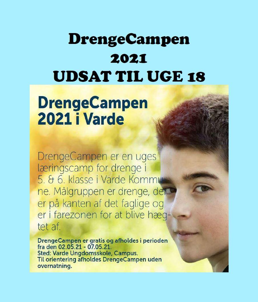 DrengeCampen 2021 - Udsættelse - Bokse