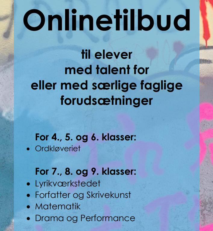 Online tilbud